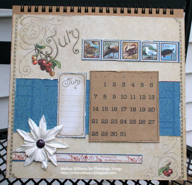 2013 calendar - July