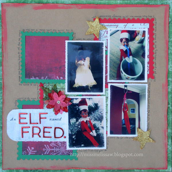 An elf named Fred.