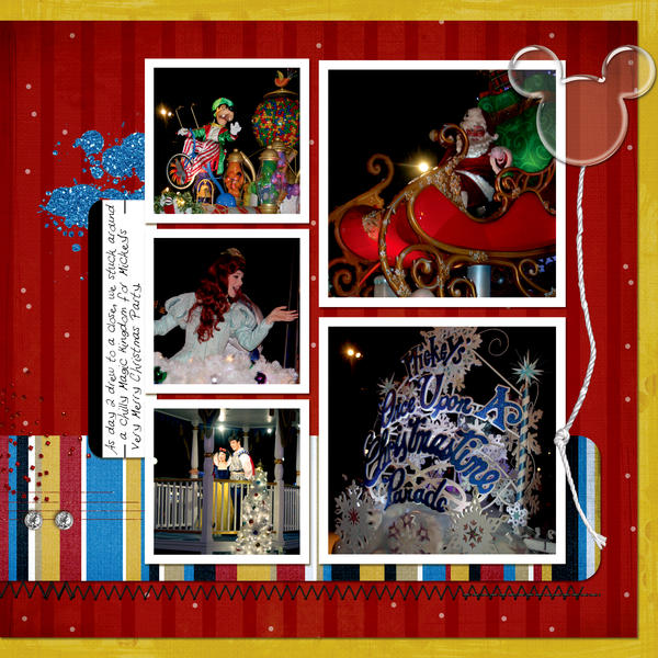 Mickey's Once Upon a Christmastime Parade ~ Page 13