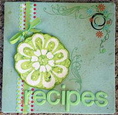 recipe 6x6 album cover