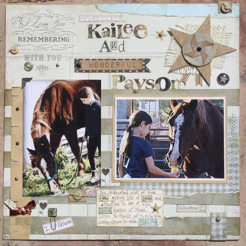 Beautiful Kailee and Wonderful Payson