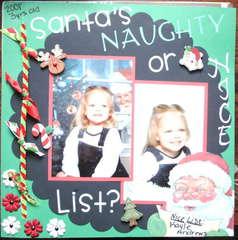 ~*~Santa's Naughty or Nice List?~*~