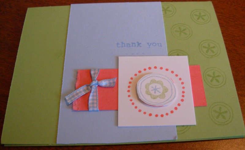 SU! Simply Sent Friendship Shapes card