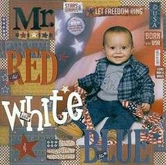 Mr. Red White & Blue
