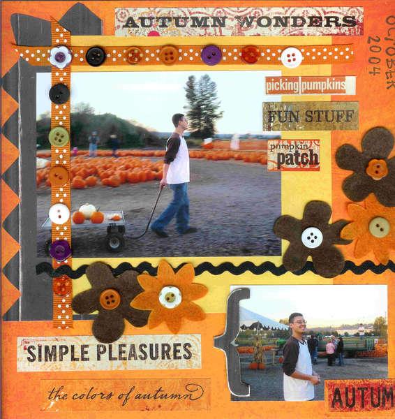 Pumpkin Patch 2004