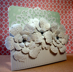 A White Flowers Card..