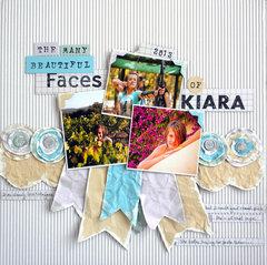 The Many Beautiful Faces of Kiara...