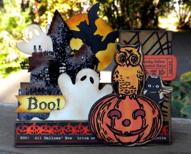 Halloween Side-Step Card - 2013...