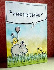 Hippo Birdie to You...
