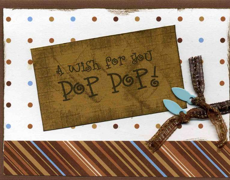 Father's Day Card (Pop Pop)