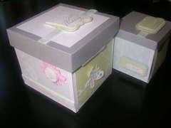 Bridal shower/wedding exploding boxes - front