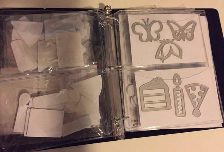 Scraproom - Pop up card kit storage 2