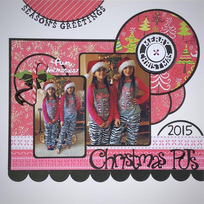 Christmas pj's 2015