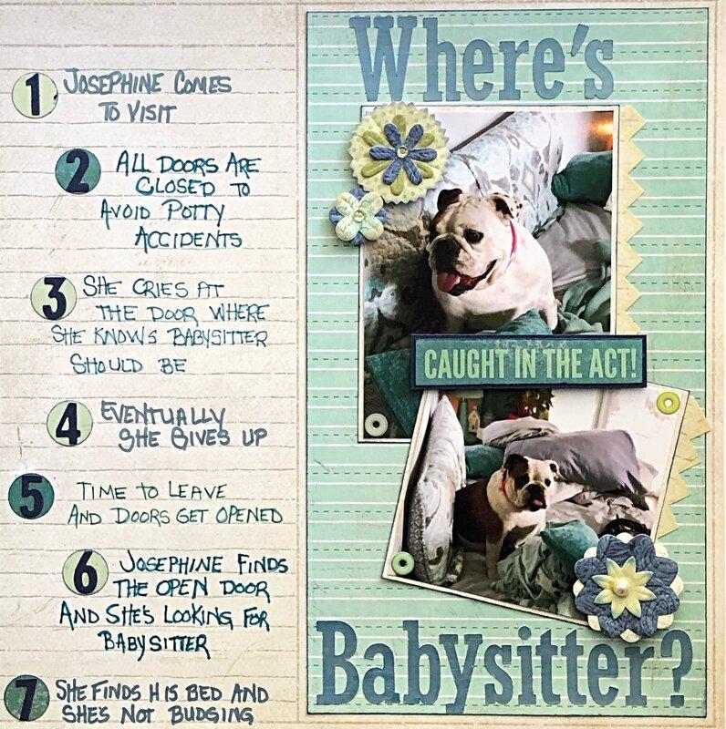 Where's babysitter ? Sept 2020