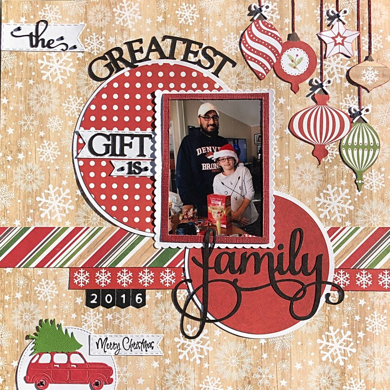 The greatest gift is family-2016