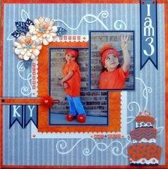 I am 3-orange party