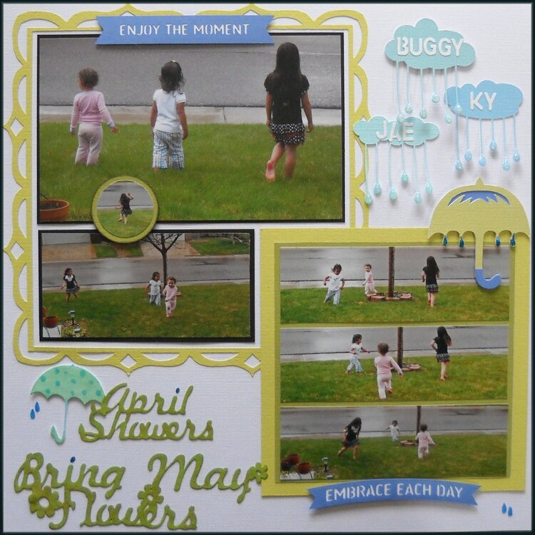April showers-Bring May flowers