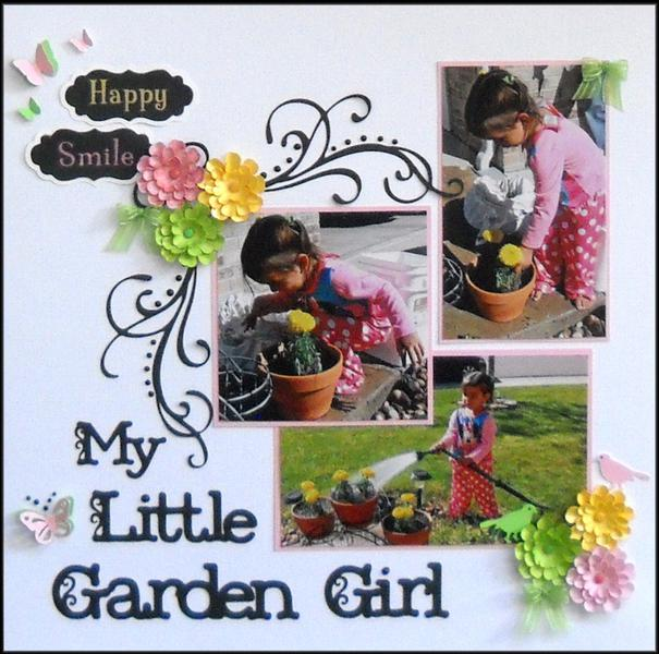 My little garden girl