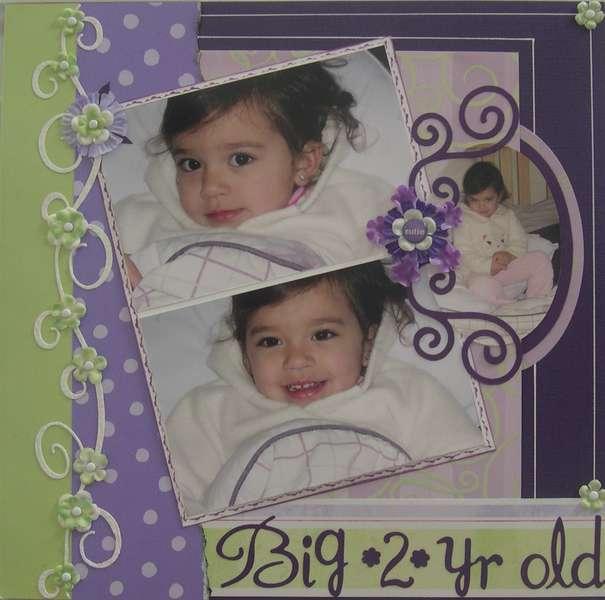 Big 2 yr old
