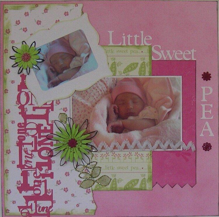 1 little sweet pea