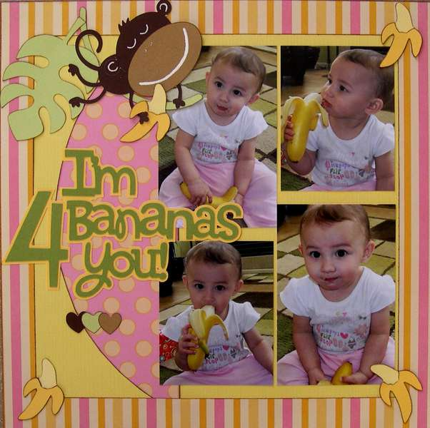 I'm bananas 4 you!