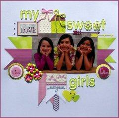 My sweet girls