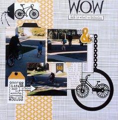 W.O.W (walk (or wheel ) on Wednesday