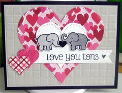 Card-love you tons