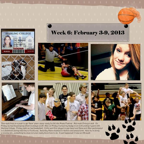 Week 6 Project 52