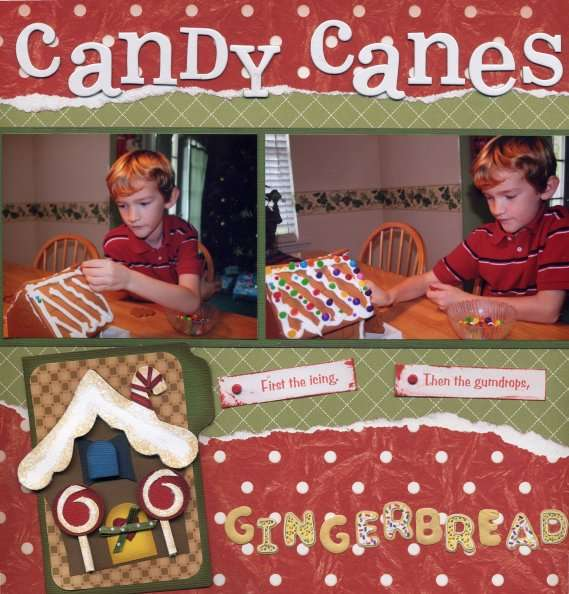 Candy Canes and Gumdrops, Gingerbread and Lollipops