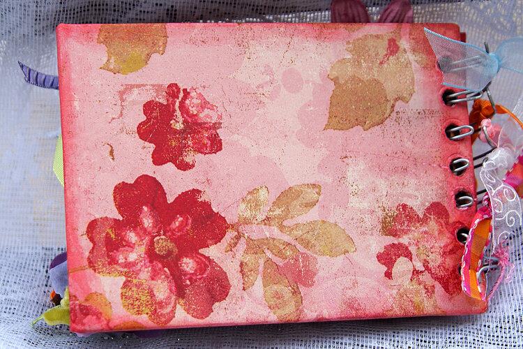 Butterflies mini book - back cover