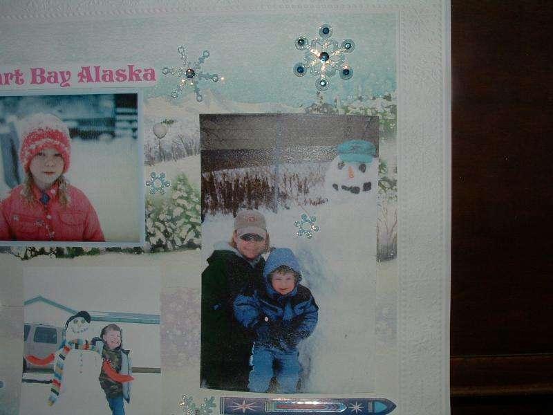 Snow in Alaska