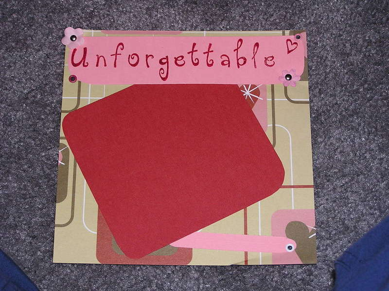 U is for Unforgettable - closeup
