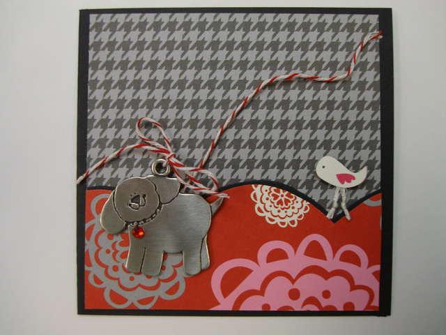 Puppy Charm Card