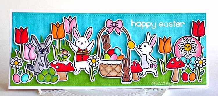Happy Easter with Peter Cottontail