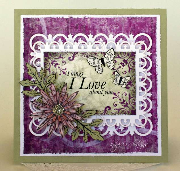 Things I Love About You *Heartfelt Creations*