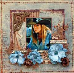 Arizona Country Girl *Scrap That August Kit*