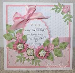 """Baby Girl"" Card"