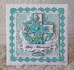 """Baby's Christening"" Card *Heartfelt Creations*"