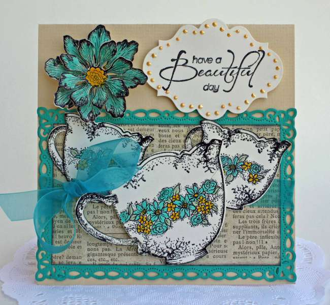 """Beautiful Day"" Card *Heartfelt Creations*"