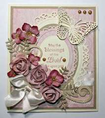 """""""Blessings of the Lord"""" Card"""