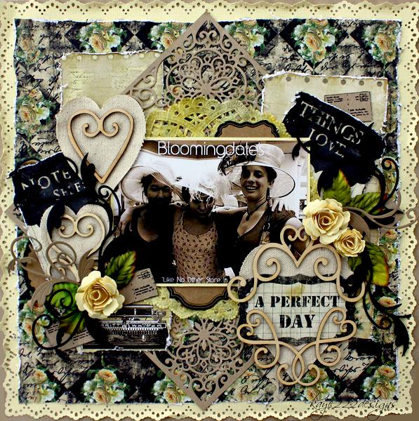 "Bloomingdales  *Scrap That GDT February Kit ""With Love""*"