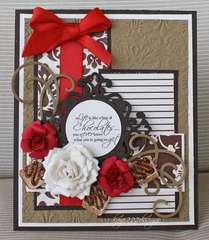 """Chocolate"" Card"