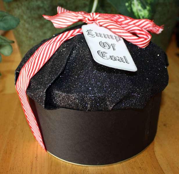 Lump of Coal Cookie Packaging