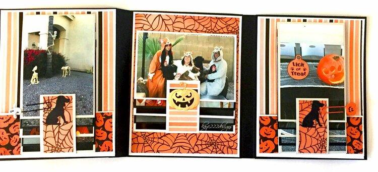 Halloween Dog Mini Album 3