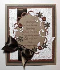 """Goodbyes...."" Card"