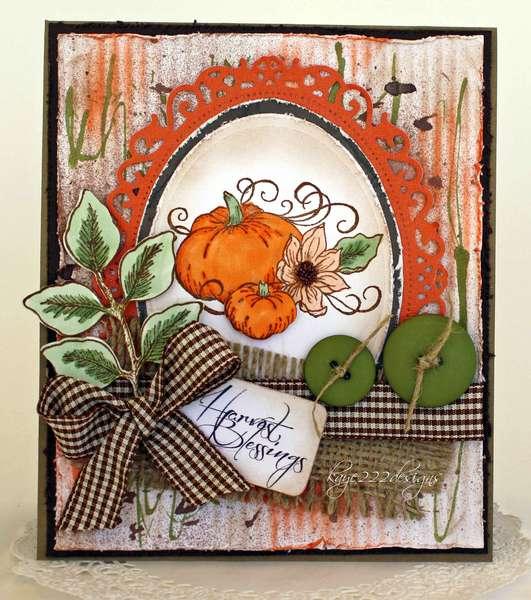 Harvest Blessings *Heartfelt Creations*