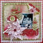 Mistletoe Kisses *Heartfelt Creations*