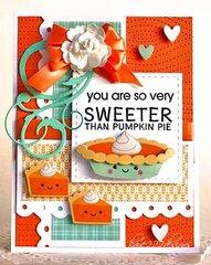 Sweeter Than Pumpkin Pie!