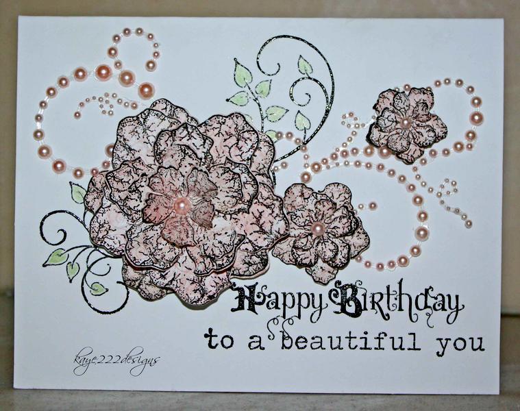 Happy Birthday To A Beautiful You *Heartfelt Creations*